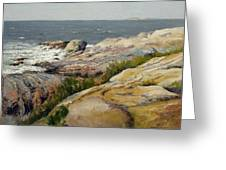 Pemaquid Point Greeting Card