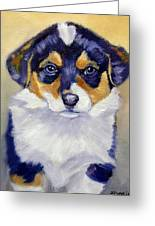 Pembroke Welsh Corgi Pup Greeting Card