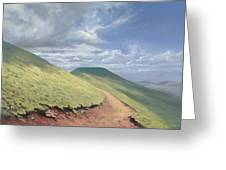 Pen Y Fan Greeting Card