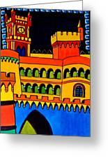 Pena Palace Portugal Greeting Card