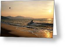 Penang Sunset Greeting Card