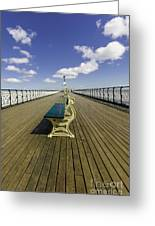 Penarth Pier 9 Greeting Card