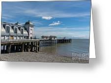 Penarth Pier Glorious Day Greeting Card