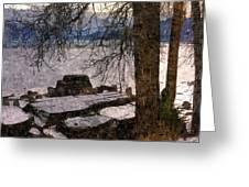 Pend D'oreille Lake 3 Greeting Card