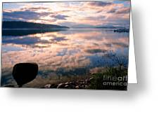Pend Oreille Reflections Greeting Card