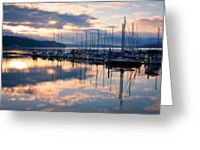 Pend Oreille Sailboats Greeting Card