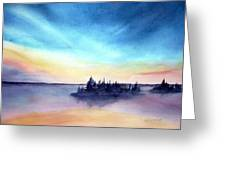 Pender Sunset Greeting Card
