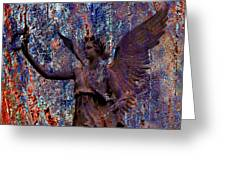 Pending Victory Goddess Victoria Greeting Card