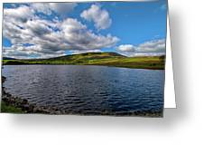 Pendle View Greeting Card