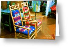 Pendleton Chairs Greeting Card