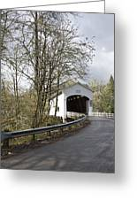 Pengra Covered Bridge Greeting Card