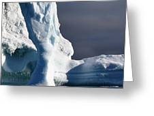 Penguin And Ice Greeting Card