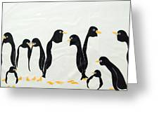 Penguins  -2 Greeting Card
