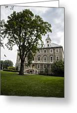Penn State Old Main From Side  Greeting Card