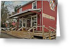 Pennsdale Country Store Greeting Card by Stephanie Calhoun