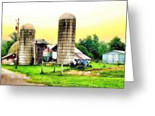 Pennsylvania Farming  Greeting Card