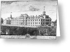 Pennsylvania Hospital, 1755 Greeting Card