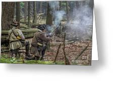 Pennsylvania Hunter Greeting Card by Randy Steele