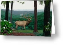 Pennsylvanian Elk Greeting Card