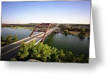 Pennybacker Bridge Greeting Card
