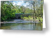 Pennypack Creek Bridge Built 1697 Greeting Card