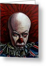 Pennywise 2 Greeting Card