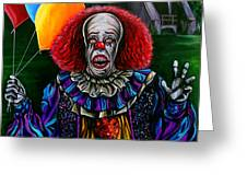 Pennywise It Greeting Card