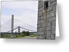 Penobscot Narrows Greeting Card