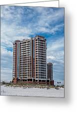 Pensacola Beach Resort Greeting Card