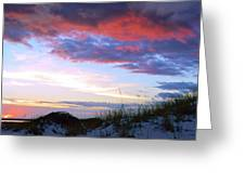 Pensacola Sunset After The Storm Greeting Card