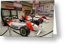 Penske Racing Indy 500 Hall Of Fame Museum Greeting Card