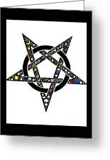 Pentacle Greeting Card
