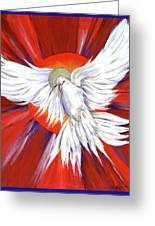 Pentecost Dove Greeting Card