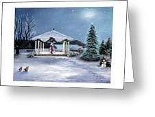 Pentwater Christmas Eve Greeting Card