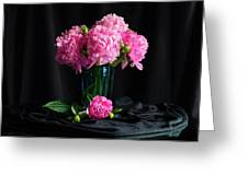 Peonies - Beauty The Brave Greeting Card