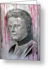 People- Lizzie Borden Greeting Card