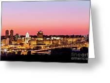 Peoria Downtown Greeting Card