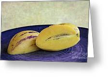 Pepino Melon Greeting Card