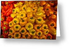 Pepper Colors Greeting Card