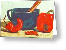 Pepper Harvest Greeting Card