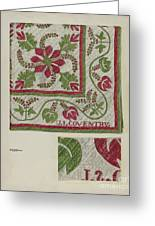 Pepperberry Quilt Greeting Card