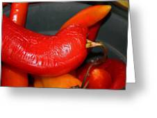 Peppers IIi Greeting Card