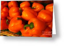 Peppers Plump And Pretty Greeting Card