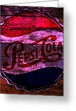 Pepsi Cola 1a Greeting Card