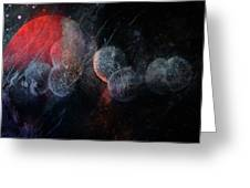 Pepsi Space Galaxy Greeting Card
