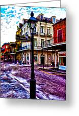 Pere Antoine Alley - New Orleans Greeting Card