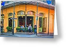 Pere Antoine Restaurant - Paint Greeting Card