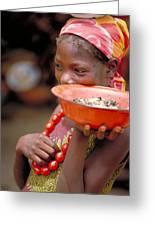 Perfect Balance In Niger Greeting Card