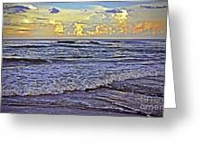 Perfect Beach Evening No.3 Greeting Card