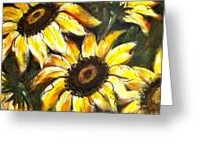 Perfect Beauty Sunflower Greeting Card